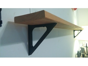 Shelf Bracket for Deck Plank Boards wood