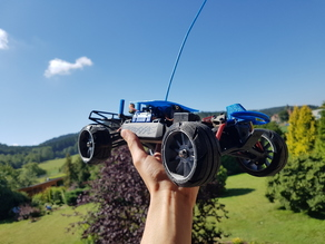 Traxxas Slash - custom wheels for rc cars