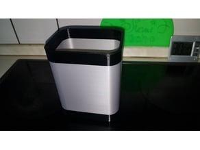 trashcan - waste paper bin - storage box - bucket - pail - crockery holder