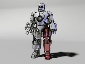 2.Left leg of Iron man Mark 1