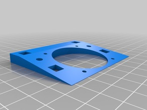 Fan mount for Printrbot LC