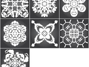 Star Wars Snowflakes by Anthony Herrera - 2014