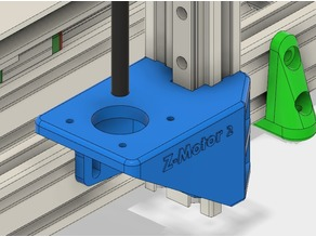 Z-motor mounts for BLV mod with room for the MGN rails behind