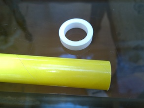 Model Rocket Guide Ring for cutting tubes