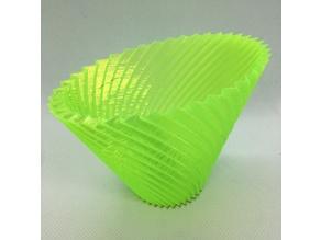 Customizable Twisted Vase