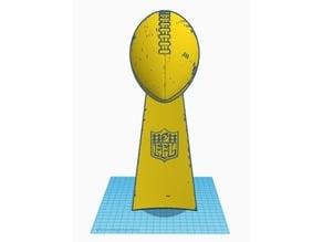 Fantasy Football Trophy (Half Scale)