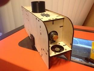 Filastruder Laser Cut Case