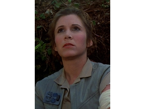 Endor Leia Rank Badge