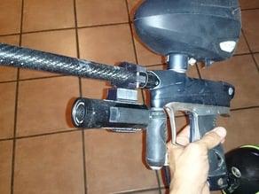 Contour paintball gun mount