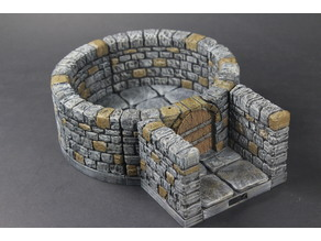 OpenLOCK Dungeon Stone Curved Interfaces