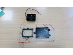 Arduino UNO & AAA battery holder for 2WD smart robot