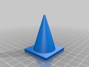 two color cone