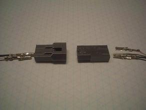 Molex 0.093 2 contact connector