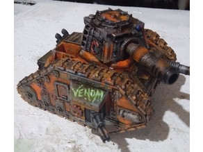 Demon Rust Alien Hybrid Tank