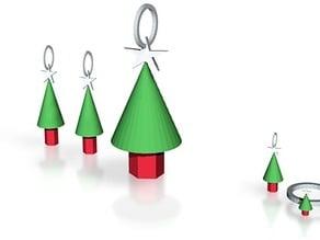 xmas tree jewelry set 2