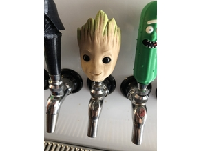 Baby Groot Tap Handle