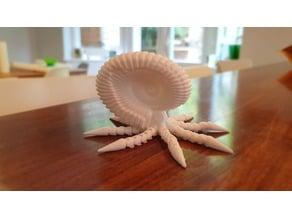 Articulated ammonite