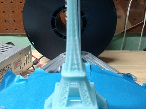 Eiffel Tower With Reasonable details