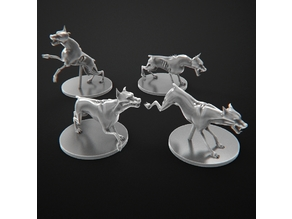 Zombie Dogs Zombicide. Perros Zombie Zombicide
