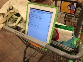 Grocery Cart Tablet Holder