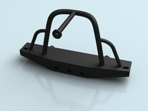 1/10 Scale Back Bumper/Tire rack for Axial Deadbolt or similar truck model
