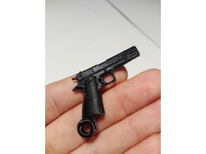 Colt 1911 High Quality Keychain