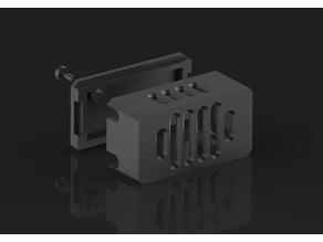 LM2596 / XL6009 voltage regulator universal case (A)
