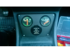 Golf 2 Central Console Plates