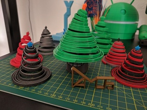 Springy Christmas Trees! Gifts! Decor! Hats! Ornaments!
