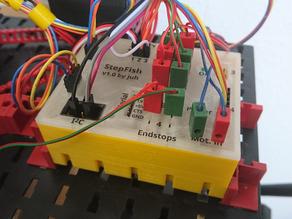 StepFish: fischertechnik I2C stepper motor controller