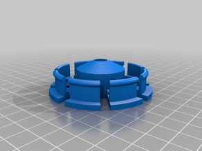 Parametric Filament Spool Hub with 608ZZ bearing - 3D Solutech and TIANSE