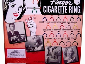 Hollywood Cigarette Ring