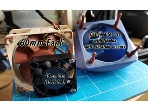 CREALITY Ender 2 60mm Noctua Fan Duct