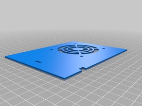 Ender 3 70mm fan cover for electronics