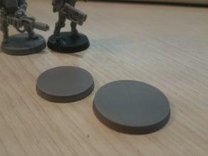 30mm wargaming base