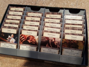 Eldritch Horror - Condition Card Organizer