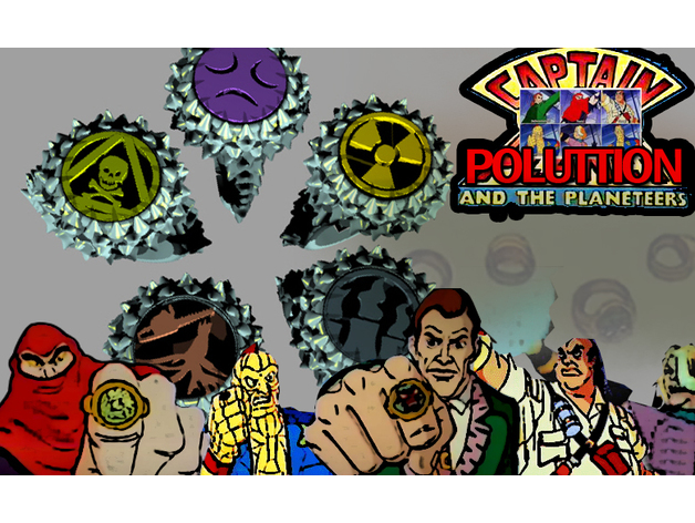 Captain Pollution Rings