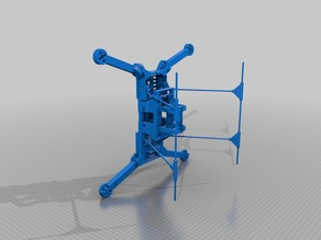 Folding quadcopter 450mm R2