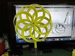 Pinwheel With Bearings