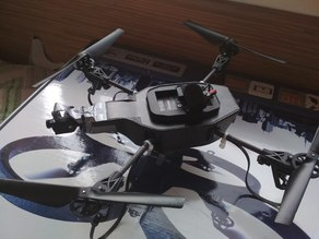 Parrot ArDrone 2.0 built-in camera mount