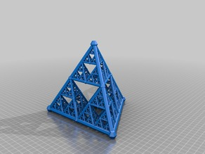 Sierpinski tetrahedron generator