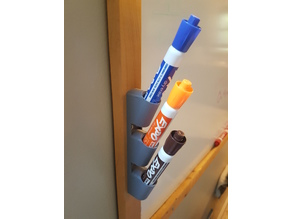 Whiteboard marker holder (narrow, screw mount)