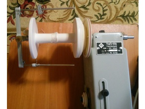 Spool for electric spinning wheel (russian model)