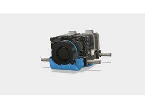 CTC Cooling Radial Fan Duct (Dual Extrusor Version), Makerbot Replicator 1, Flashforge, Duplicator 4