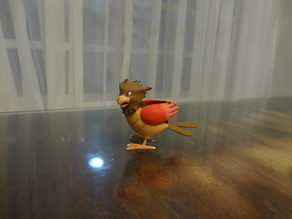 Spearow Pokemon EDLI3D