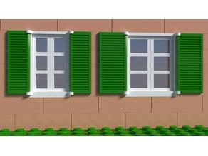 Lego compatible classic windows