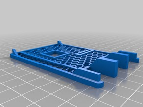 Raspberry Pi 2 Case Mesh Cover with Hole for Heatsink