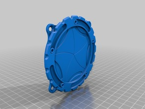 80MM FAN COVER IRIS STYLE
