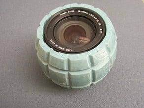 Sigma 18-200 lens grenade box