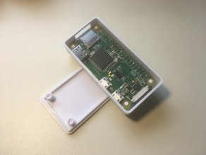Raspberry Pi Zero Case - Flipped Header